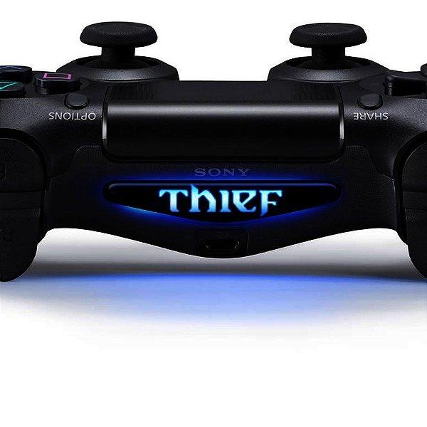 Adesivo Light Bar Controle PS4 Thief Mod 01