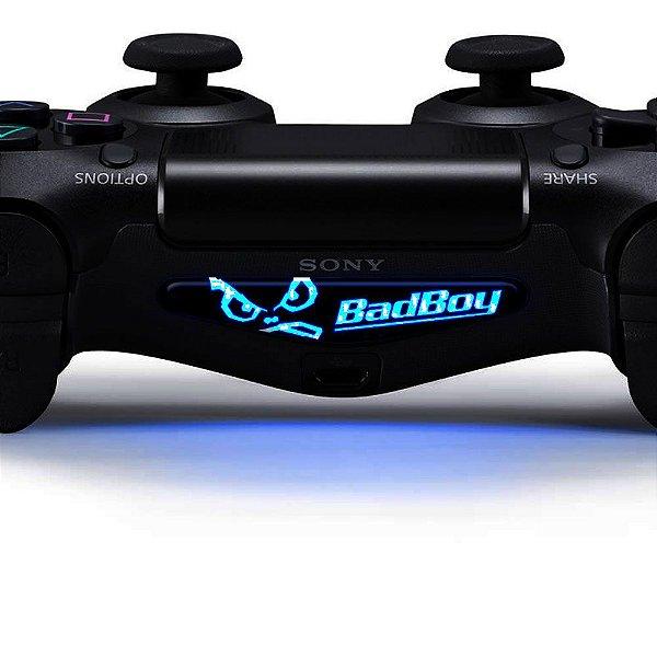 Adesivo Light Bar Controle PS4 Bad Boy