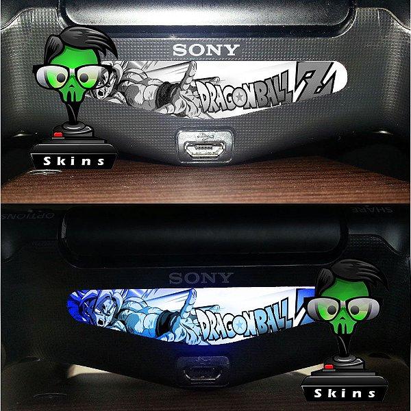 Adesivo Light Bar Controle PS4 Dragon Ball Z Mod 02