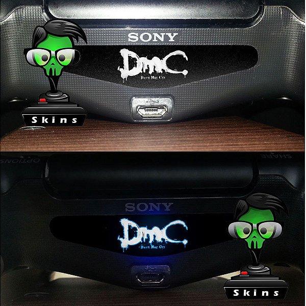 Adesivo Light Bar Controle PS4 DMC Mod 01