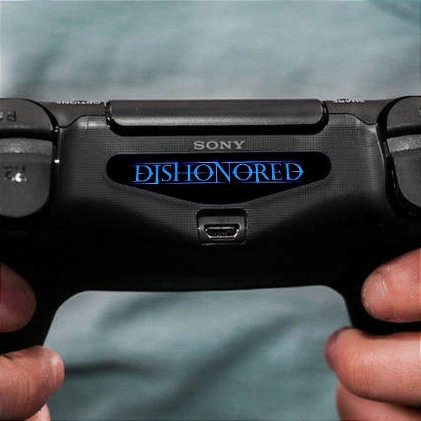 Adesivo Light Bar Controle PS4 Dishonored Mod 01