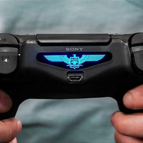 Adesivo Light Bar Controle PS4 Italia Mod 01