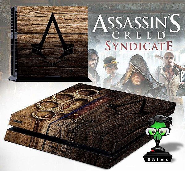Adesivo para Console Ps4 Fat Assassins Creed Sindicate
