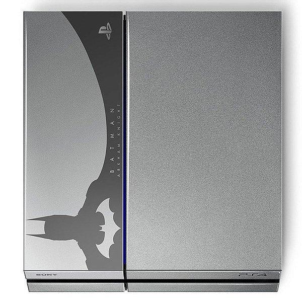 Adesivo para Console Ps4 Fat Batman Limited