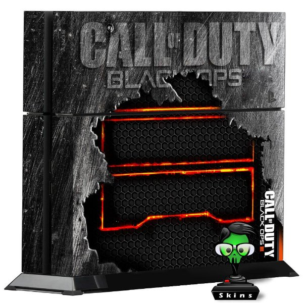 Adesivo para Console Ps4 Fat Call Of Duty Black Ops 2