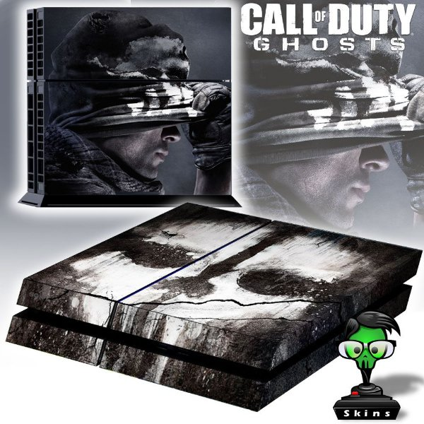 Adesivo para Console Ps4 Fat Call Of Duty Ghosts
