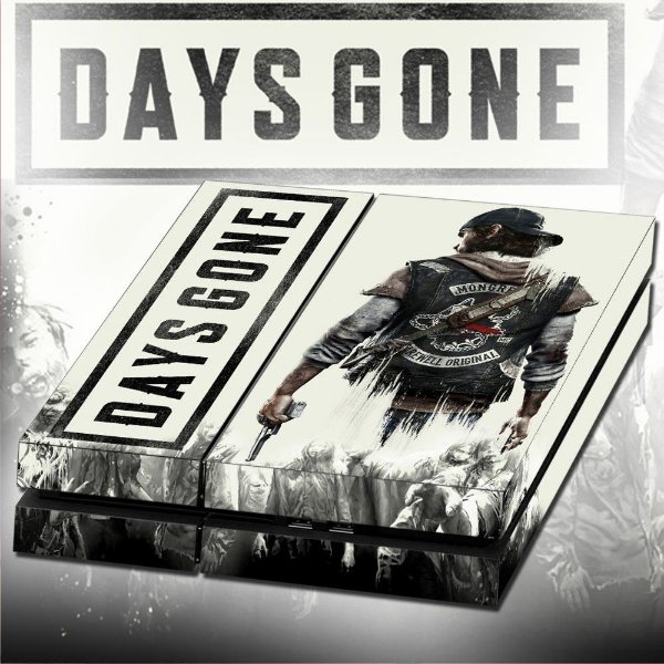 Adesivo para Console Ps4 Fat Days Gone