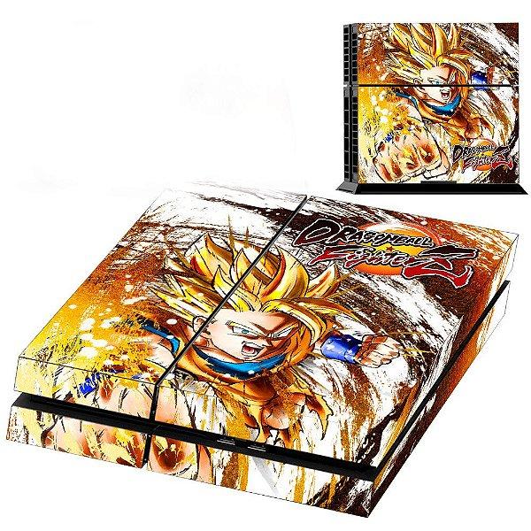 Adesivo para Console Ps4 Fat Dragon Ball Z