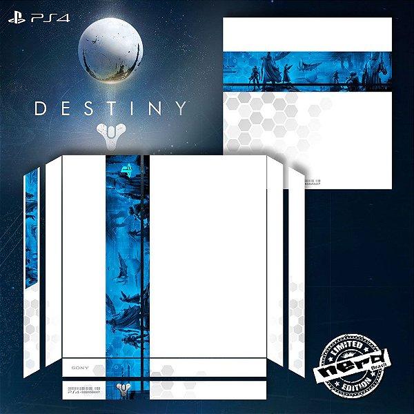 Adesivo para Console Ps4 Fat Destiny Limited 2