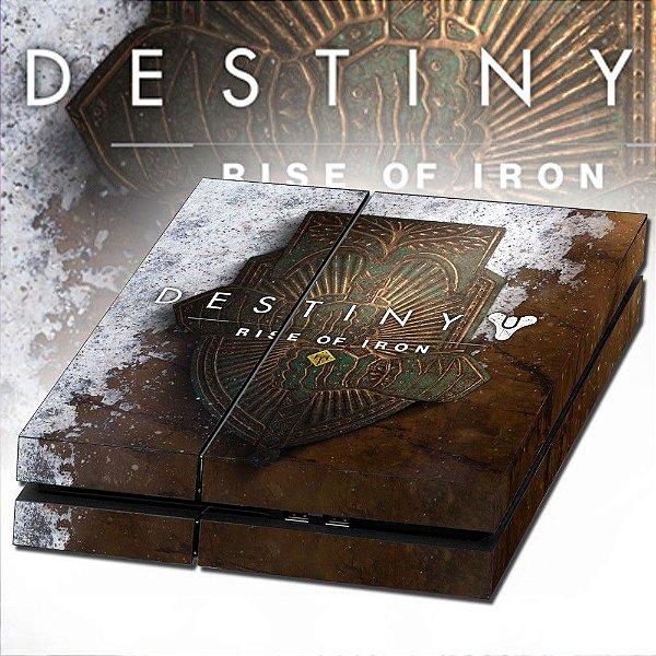 Adesivo para Console Ps4 Fat Destiny Rise Of Iron