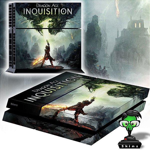 Adesivo para Console Ps4 Fat Dragon Age Inquisition