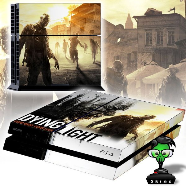Adesivo para Console Ps4 Fat Dying Light