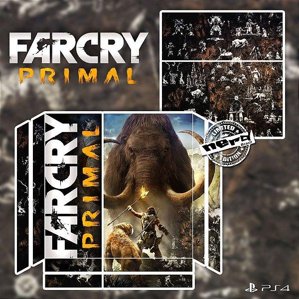 Adesivo para Console Ps4 Fat Farcry Primal