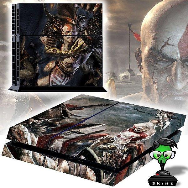 Adesivo para Console Ps4 Fat God Of War 5