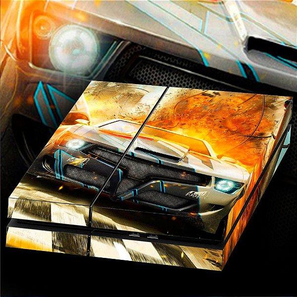 Adesivo para Console Ps4 Fat Gran Turismo 3