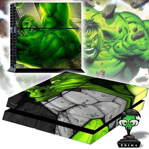Adesivo para Console Ps4 Fat Hulk