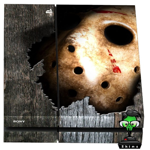 Adesivo para Console Ps4 Fat Jason 1