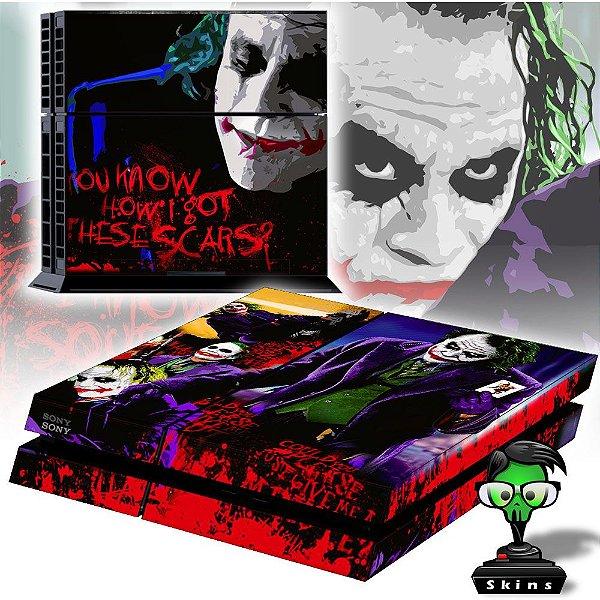 Adesivo para Console Ps4 Fat Joker 1