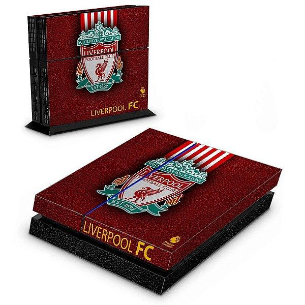 Adesivo para Console Ps4 Fat Liverpool