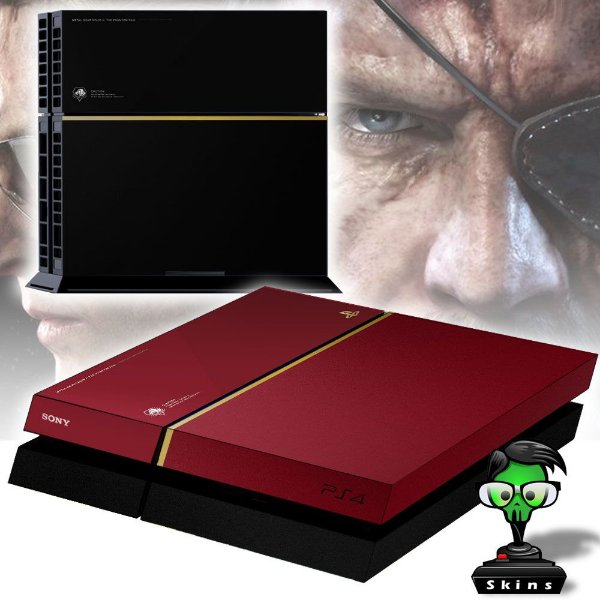 Adesivo para Console Ps4 Fat Metal Gear Solid Limited Edition