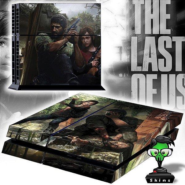 Adesivo para Console Ps4 Fat The Last Of Us 3