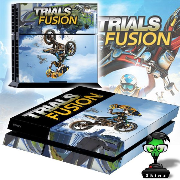 Adesivo para Console Ps4 Fat Trials Fusion