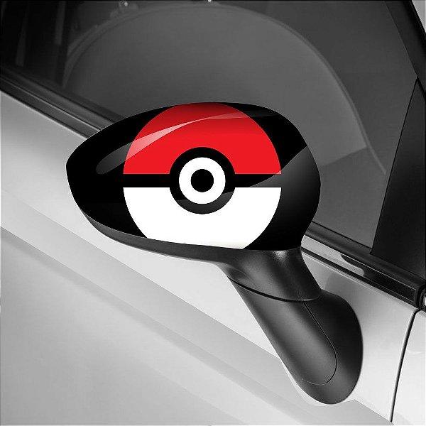 Adesivo para Envelopamento de Retrovisor Pokémon