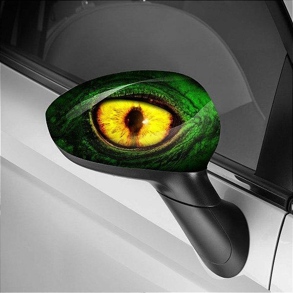 Adesivo para Envelopamento de Retrovisor Dragon Eye Green