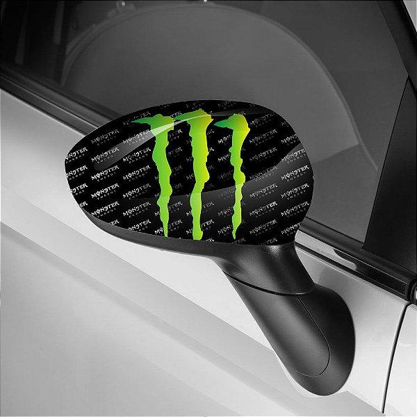 Adesivo para Envelopamento de Retrovisor Monster 2