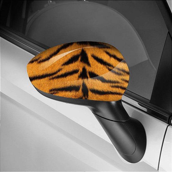 Adesivo para Envelopamento de Retrovisor Tigre