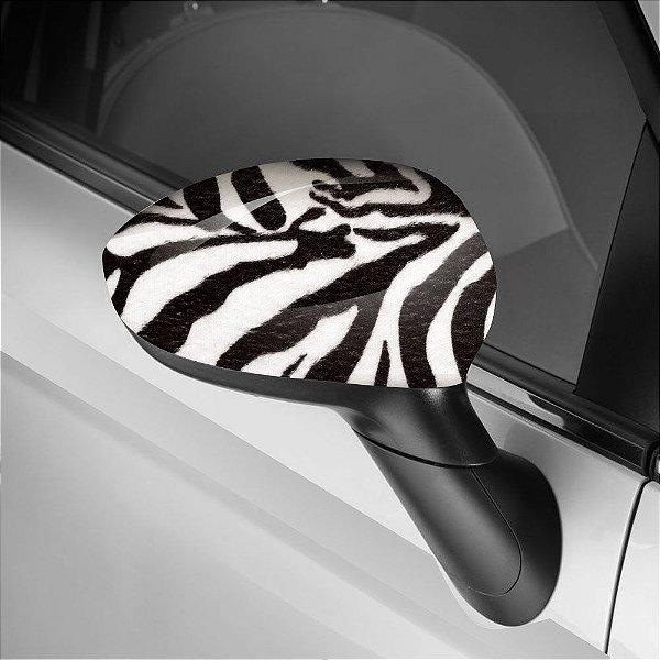 Adesivo para Envelopamento de Retrovisor Zebra