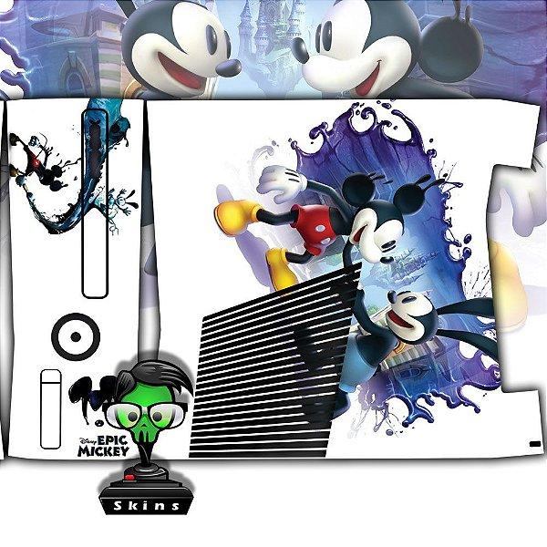 Skin Console XBOX 360 Slim Mickey mod 01
