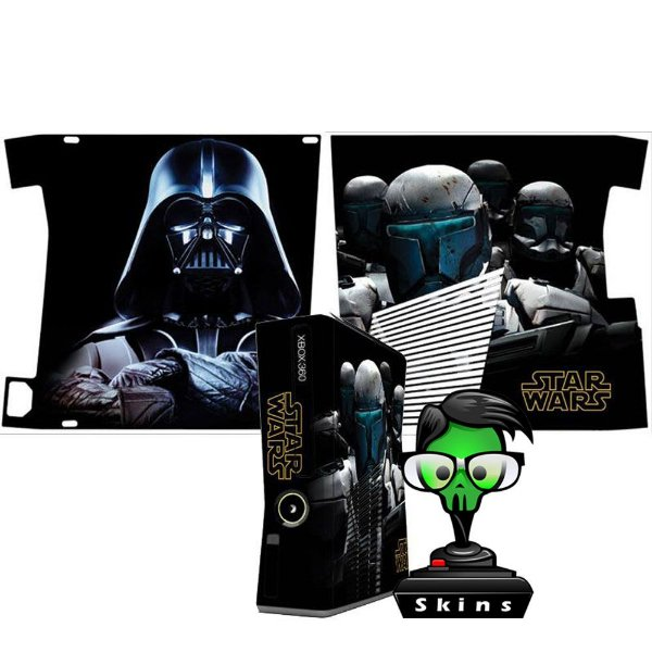 Skin Console XBOX 360 Slim Star Wars mod 01