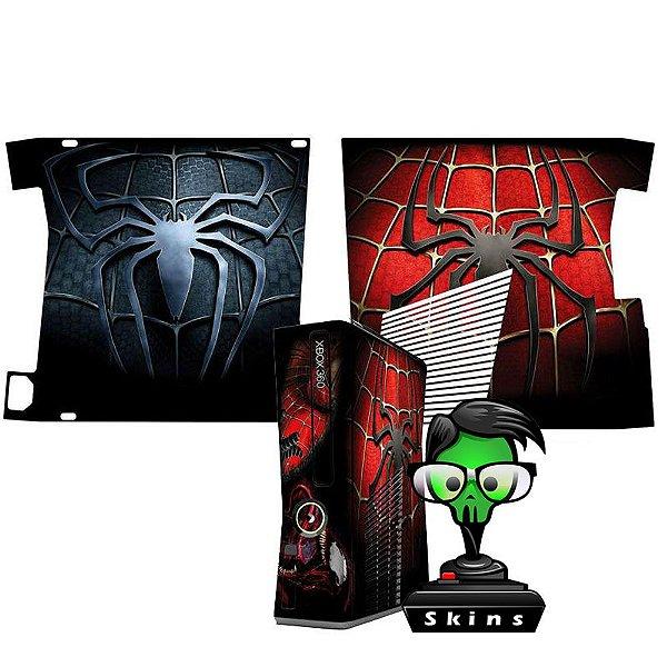 Skin Console XBOX 360 Slim Spider Man mod 01