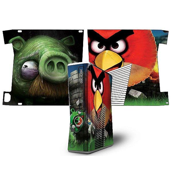 Skin Console XBOX 360 Slim Angry Birds mod 01