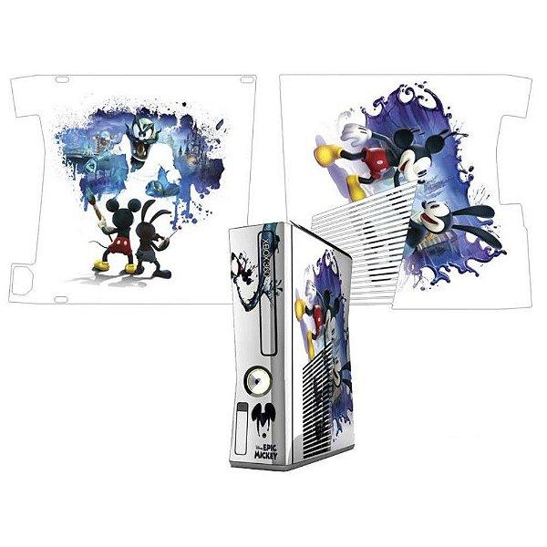 Skin Console XBOX 360 Slim Mickey mod 03