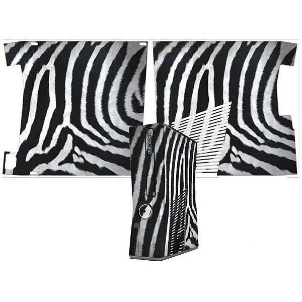 Skin Console XBOX 360 Slim Zebra