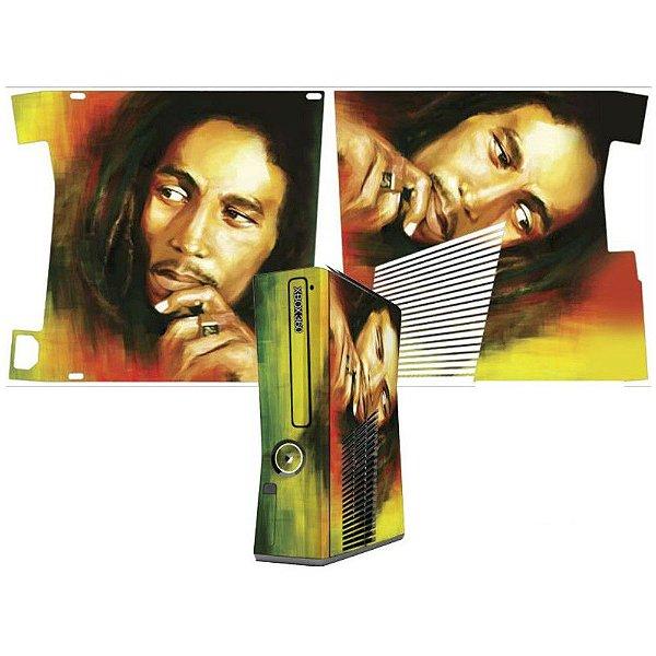 Skin Console XBOX 360 Slim Bob Marley
