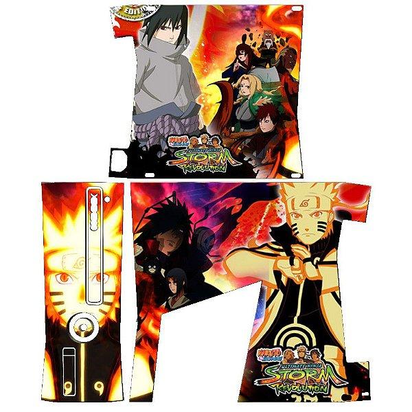 Skin Console XBOX 360 Slim Naruto 07