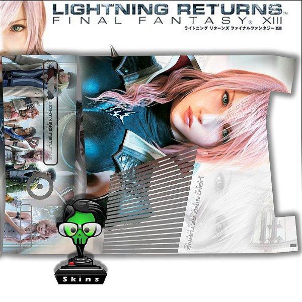 Skin Console XBOX 360 Slim Final Fantasy XIII