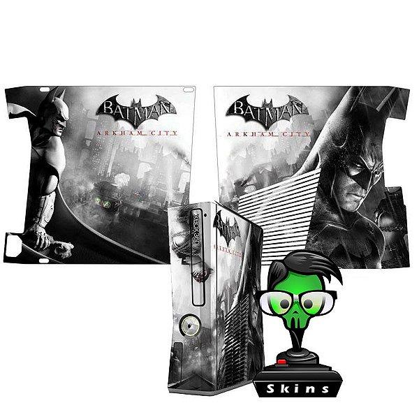 Skin Console XBOX 360 Slim Batman mod 07