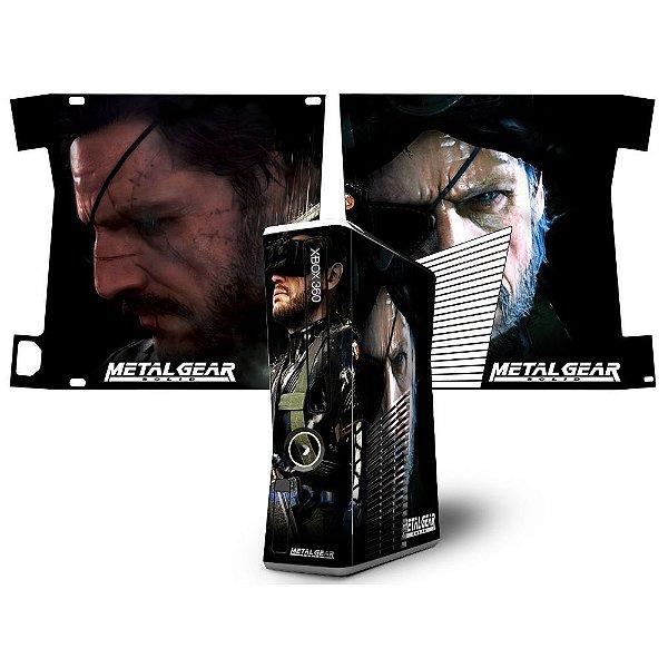 Skin Console XBOX 360 Slim Metal Gear