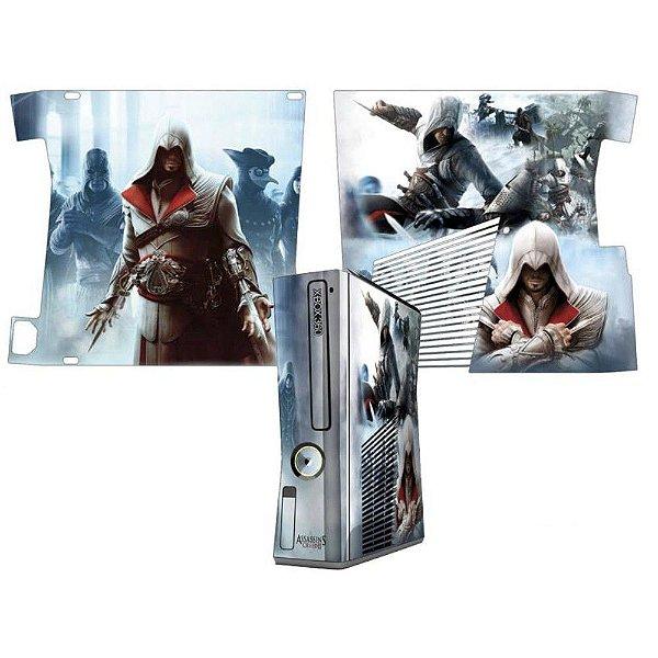Skin Console XBOX 360 Slim Assassins Creed Mod 1