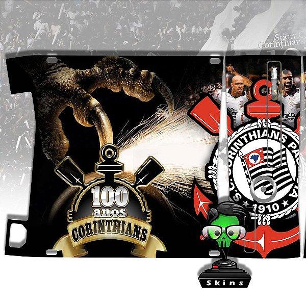 Skin Console XBOX 360 Slim Corinthians