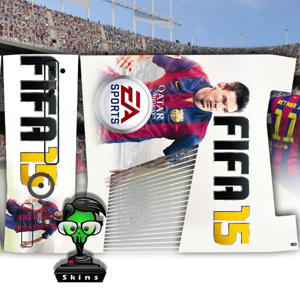 Skin Console XBOX 360 Slim FIFA 15