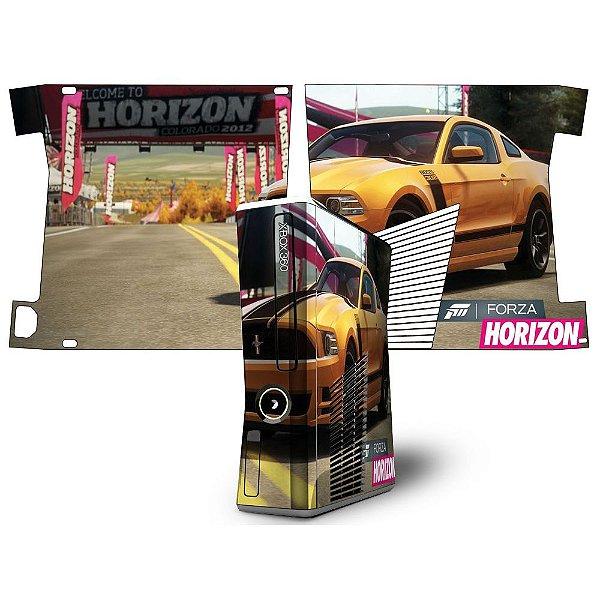 Skin Console XBOX 360 Slim Forza Mod 02