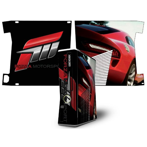 Skin Console XBOX 360 Slim Forza Mod 03