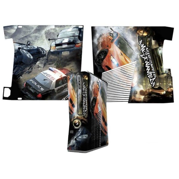 Skin Console XBOX 360 Slim Need for Speed Mod 02