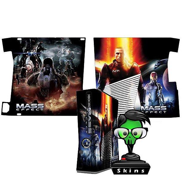 Skin Console XBOX 360 Slim Mass Effect