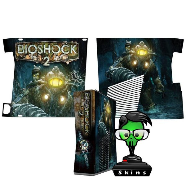 Skin Console XBOX 360 Slim Bioshock 2